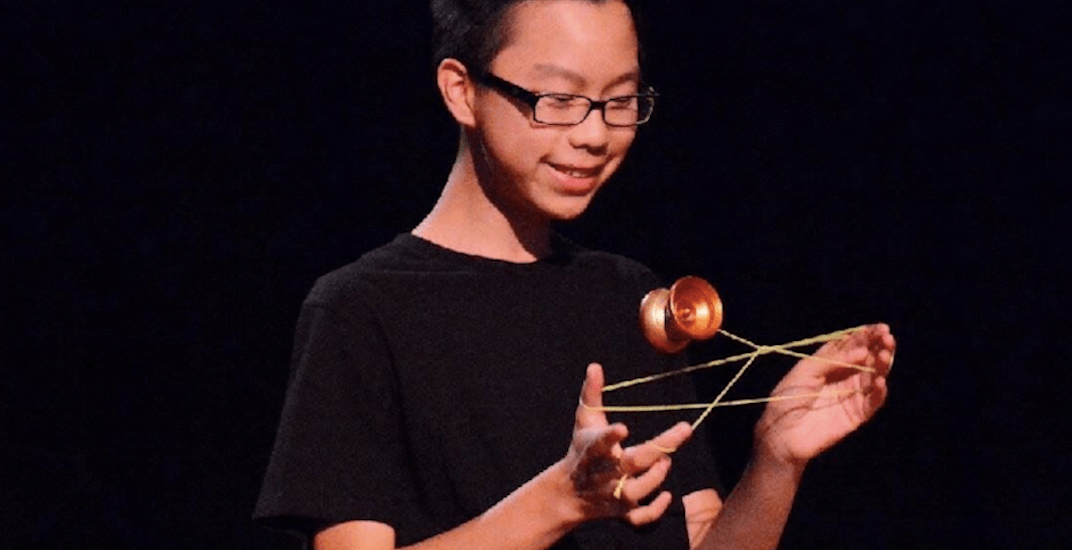Catch this local yo-yo pro in action at Concord's NYE 2018 Vancouver