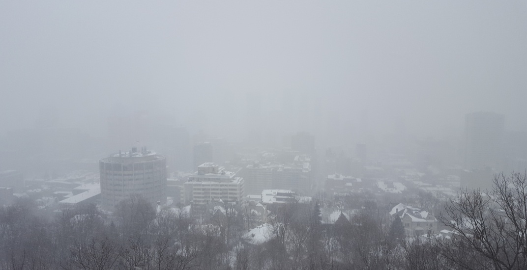 Smog and extreme cold warning in effect for Montreal