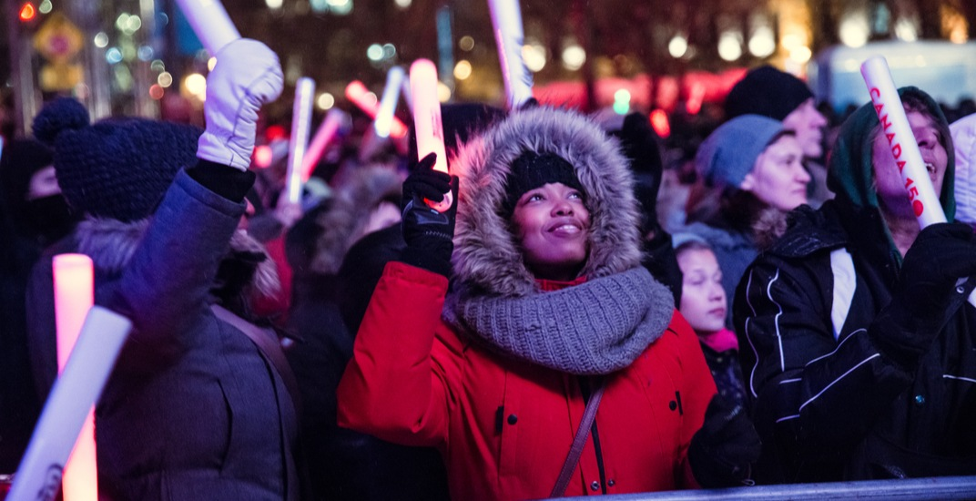 Montreal's massive New Year's Eve celebration is still on despite the cold
