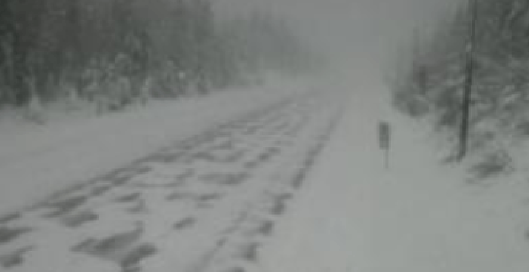 UPDATE: Highway 3 between Hope and Princeton reopened after snow closure
