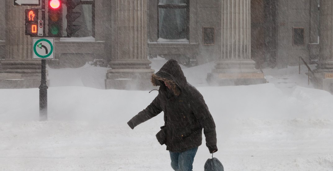 Environment Canada extends winter storm warning for Montreal