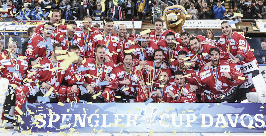 Canada wins third-straight Spengler Cup title