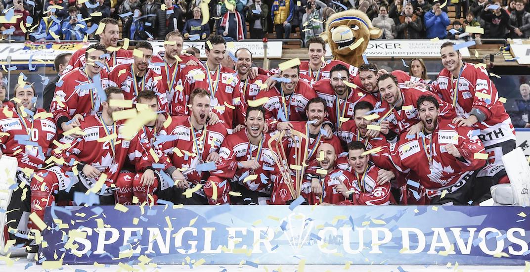 Spengler cup canada 2017