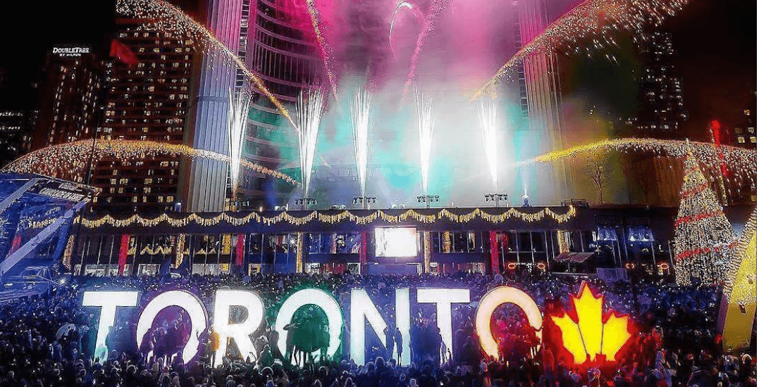 18 incredible photos from New Year's Eve at Nathan Phillips Square (PHOTOS)