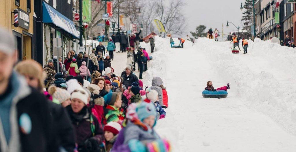 Fire and Ice Bracebridge winter carnival
