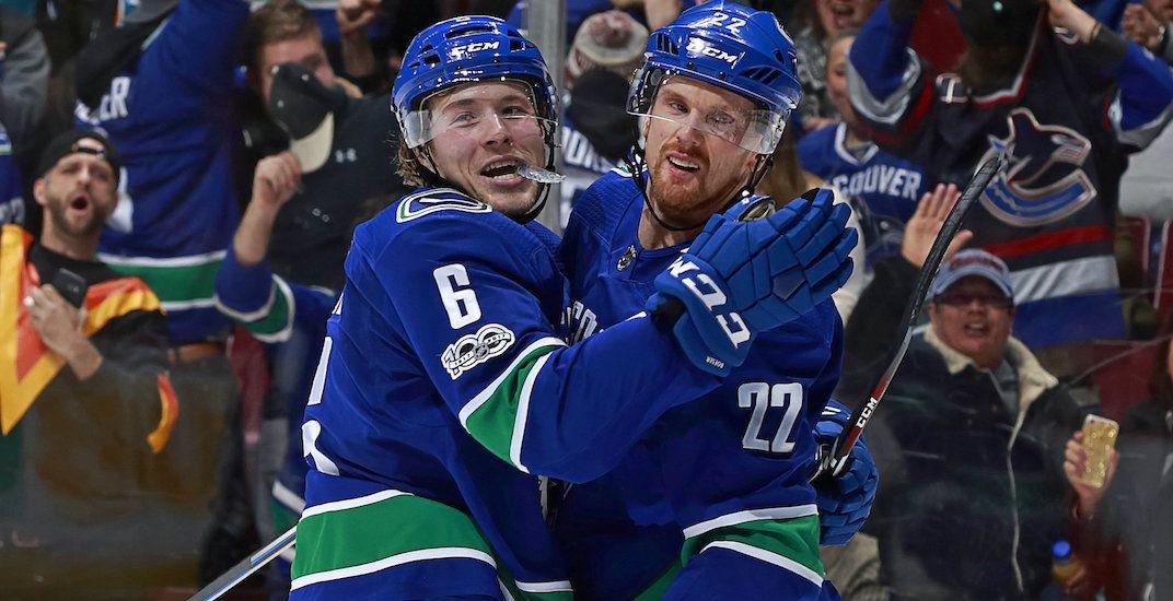 Canucks' Boeser named NHL Rookie of the Month for December