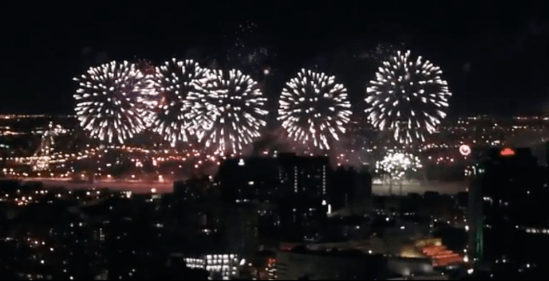 Montreal teen creates amazing video of the city's New Year's Eve fireworks