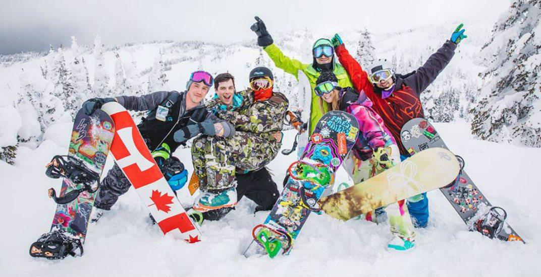Snowboarding canadafacebook