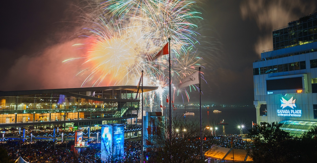 Concords new years eve vancouver fireworks 2018