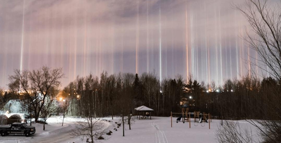 Canadian photographer captures stunning natural light phenomenon (PHOTOS)