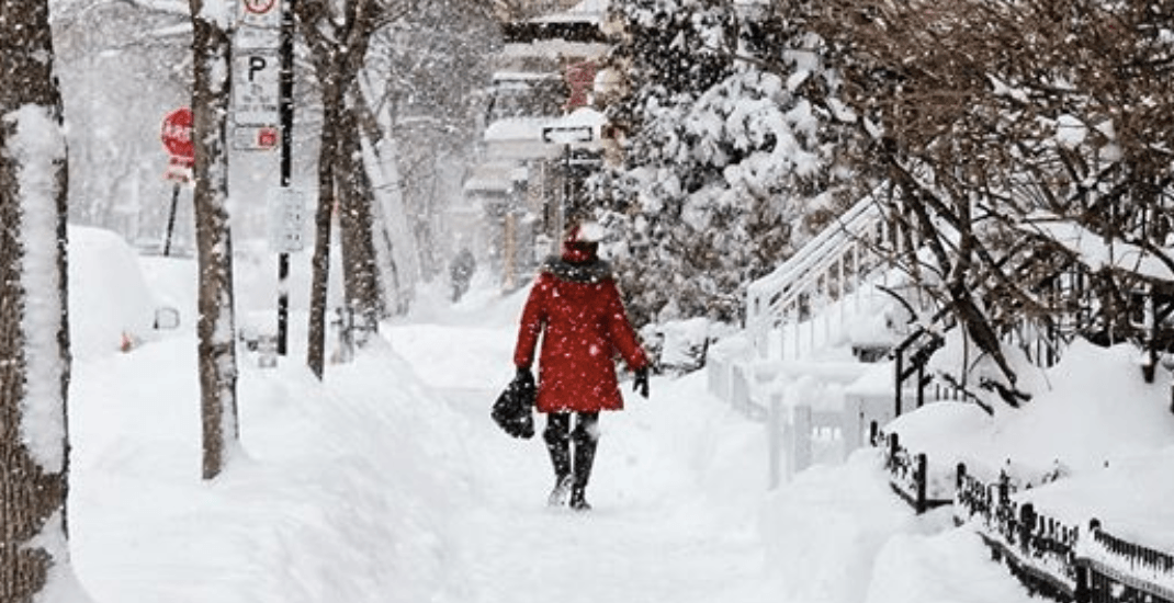 Montreal could see up to 40 cm of snow over the next five days