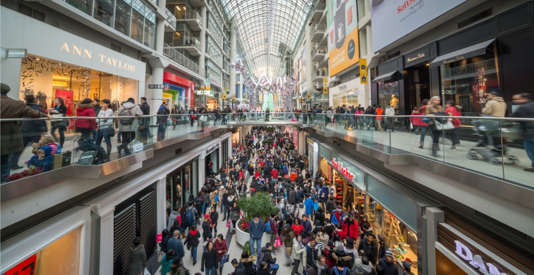 These are the 10 busiest malls in Canada