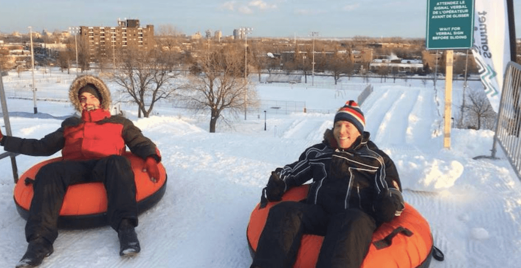 Montreal's man-made ski and snow tubing hills are officially open (PHOTOS)
