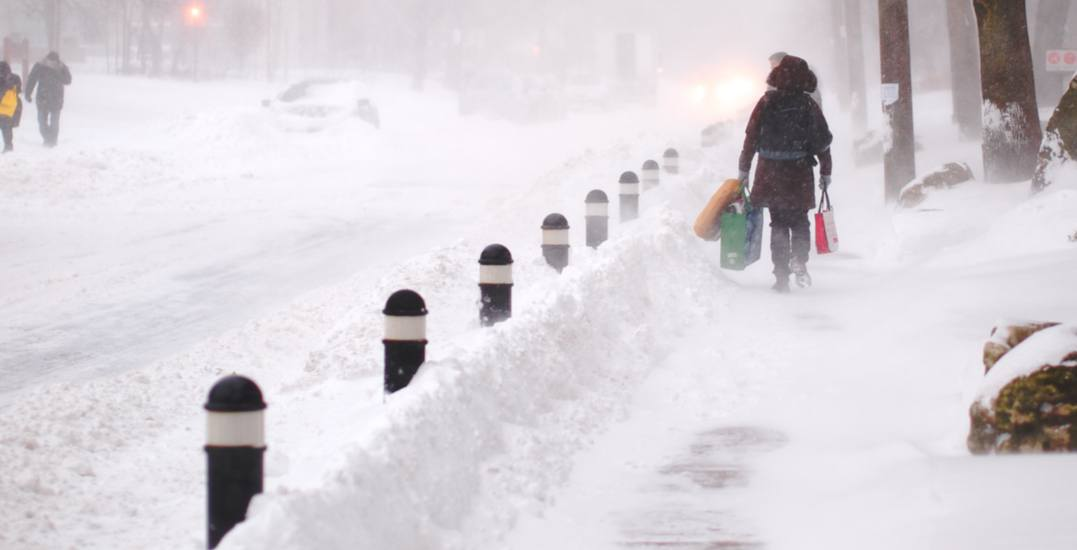 Toronto could see up to 15 cm of snow over the next week