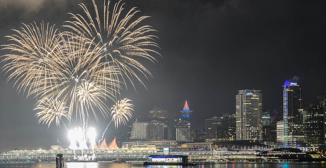Nye van 2018 fireworks