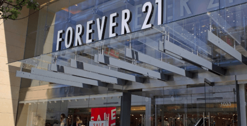 Forever 21 on Robson Street