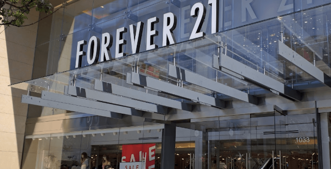 Forever 21 On Robson Street Is Closing Its Doors This Month