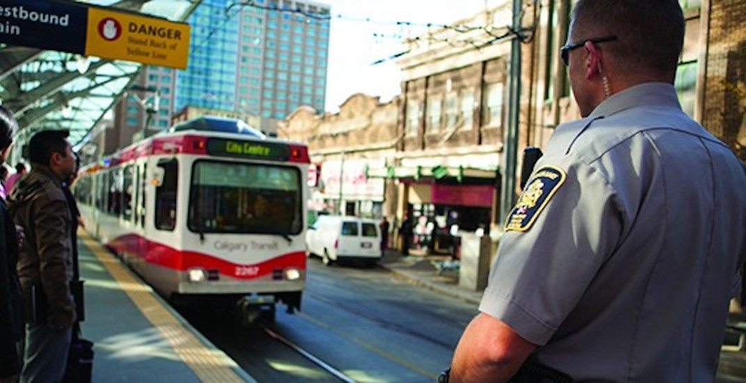Transit peace officer