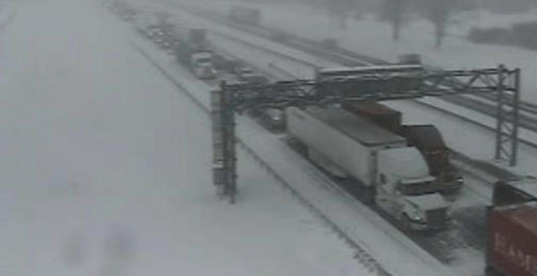 Treacherous winter conditions cause 75-car pileup near Buffalo, NY