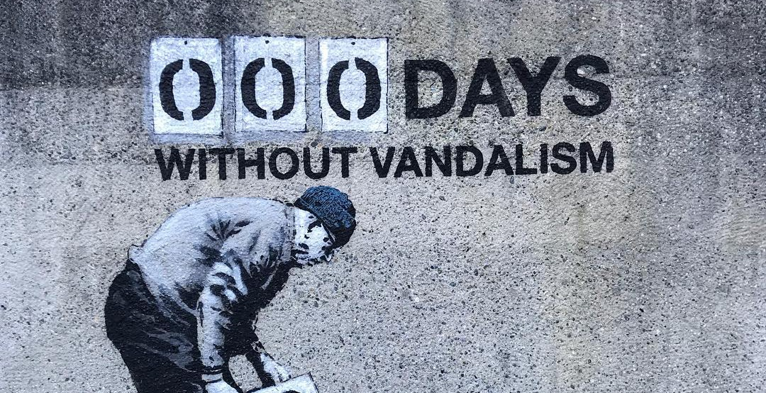 000 days without vandalism by iheart iheart instagram feature