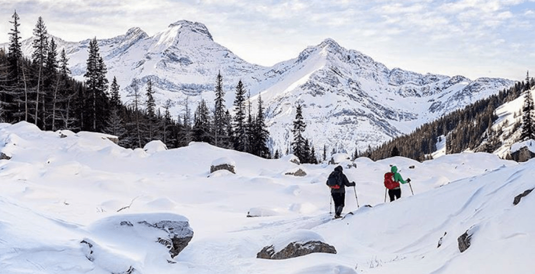 Winter camping in Alberta looks super awesome, but crazy cold (PHOTOS)