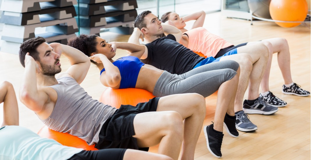 You can take FREE fitness classes at UBC next week