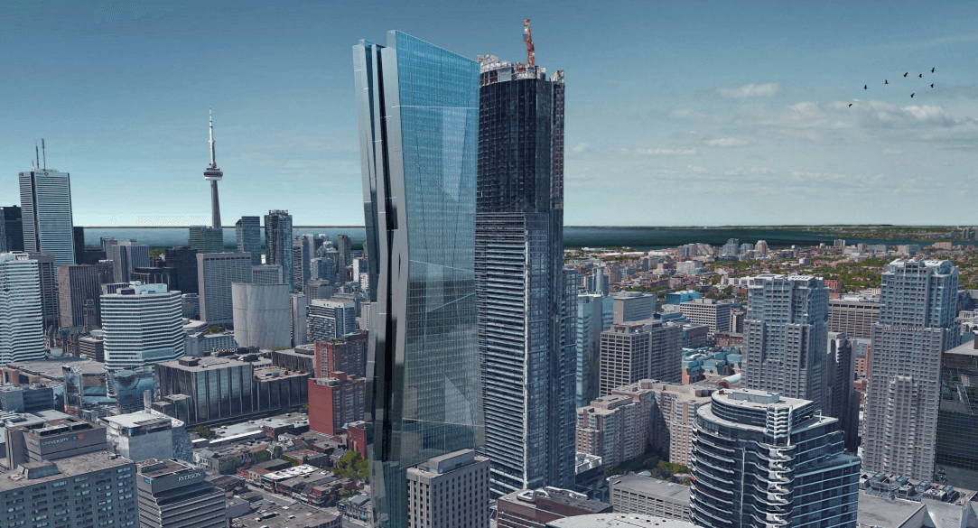 There's a proposal to add 42 floors to a downtown Toronto building