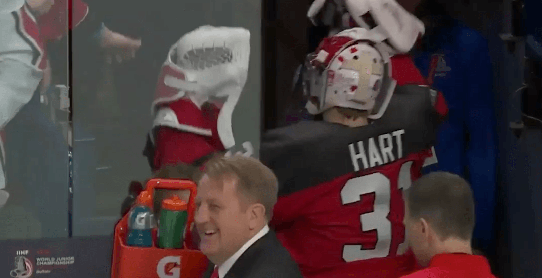 Team Canada goalie has ANOTHER bizarre superstition