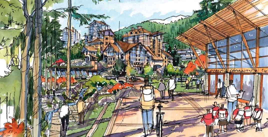 Resort-like village planned for base of Cypress Mountain (RENDERINGS)