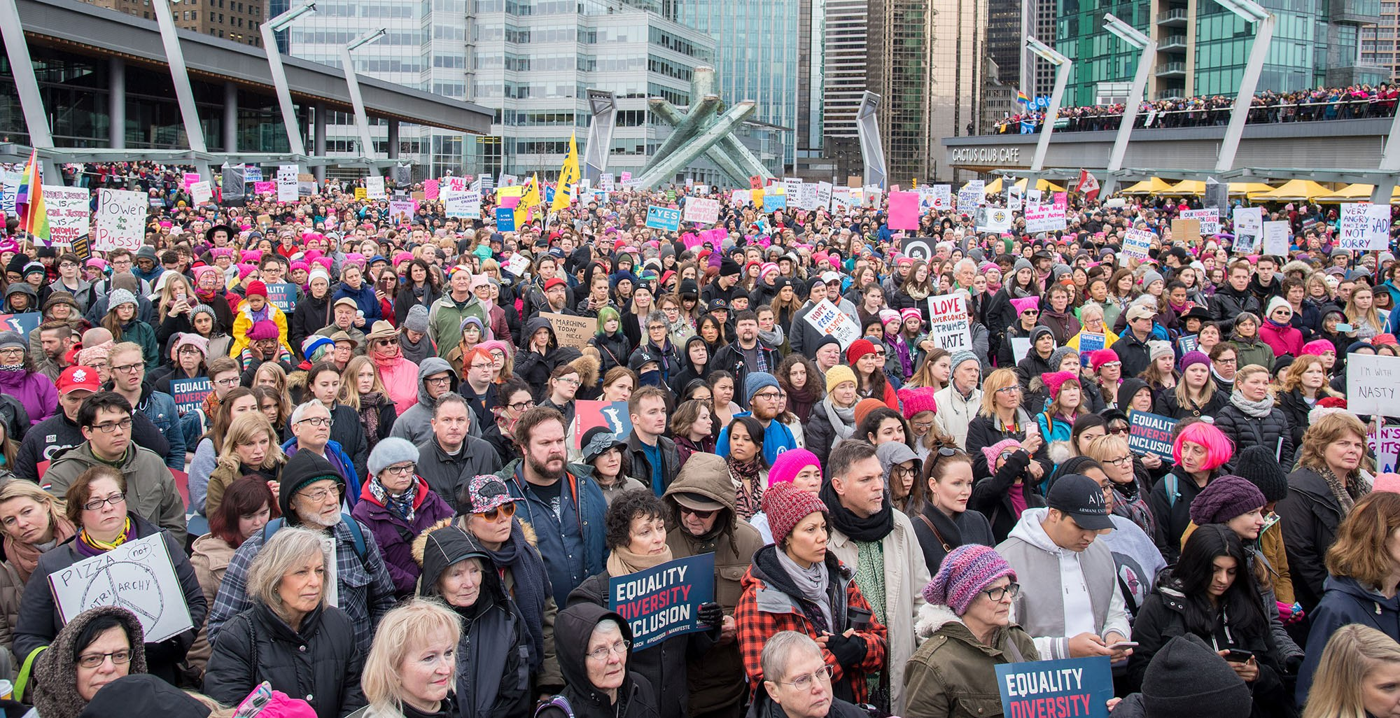 Tens of thousands expected at March On, Vancouver! this month
