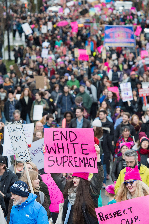 The Women's March in 2017 (Emilia Orren at PhotoByEGO)