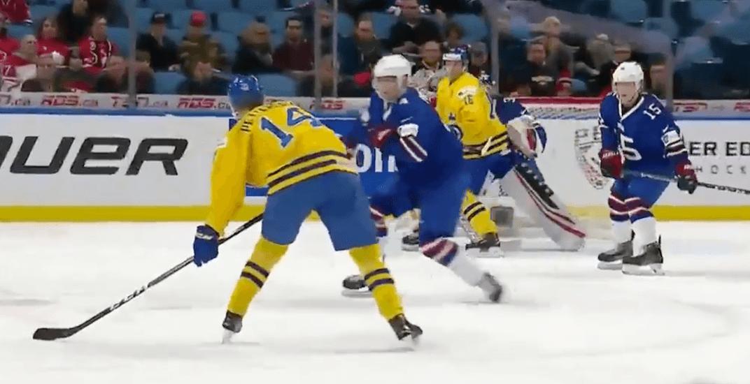 Elias pettersson goal sweden
