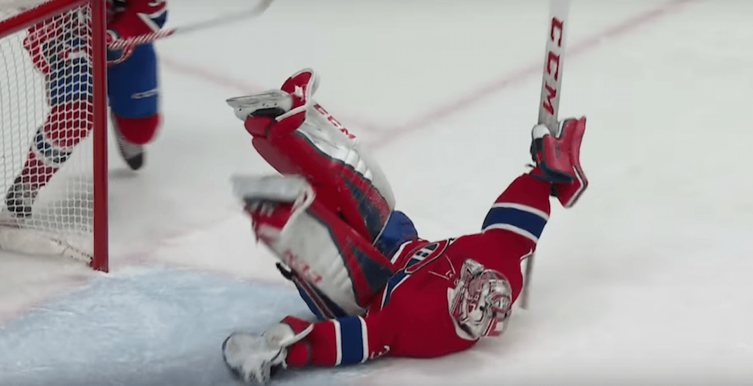 Carey Price makes save of the season in overtime (VIDEO)