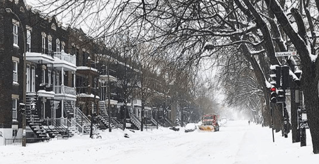 It's going to be snowy and -31℃ in Montreal this weekend
