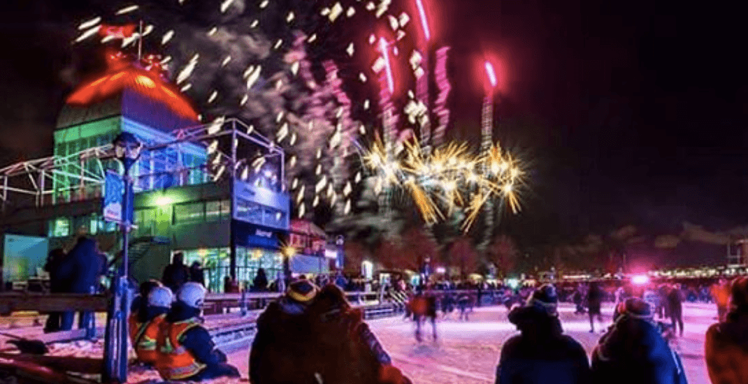 This is the last weekend to watch free winter fireworks at the Old Port