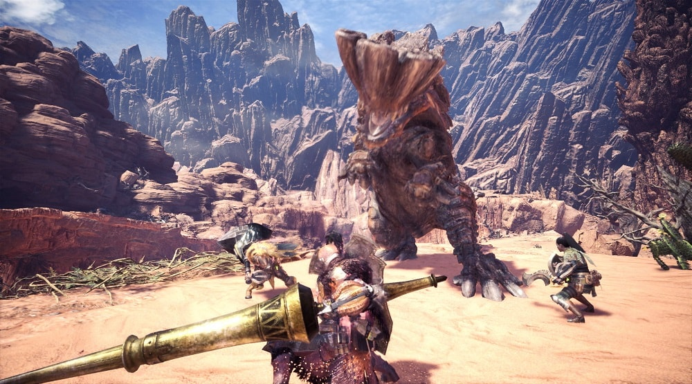 Monster hunter world feat min