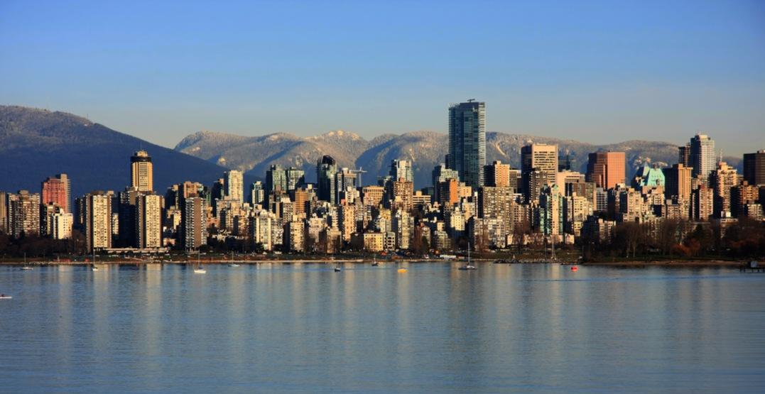 Vancouver skyline ocean1