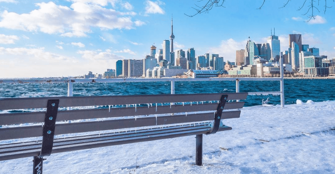Toronto police warning the public to stay off the icy harbour