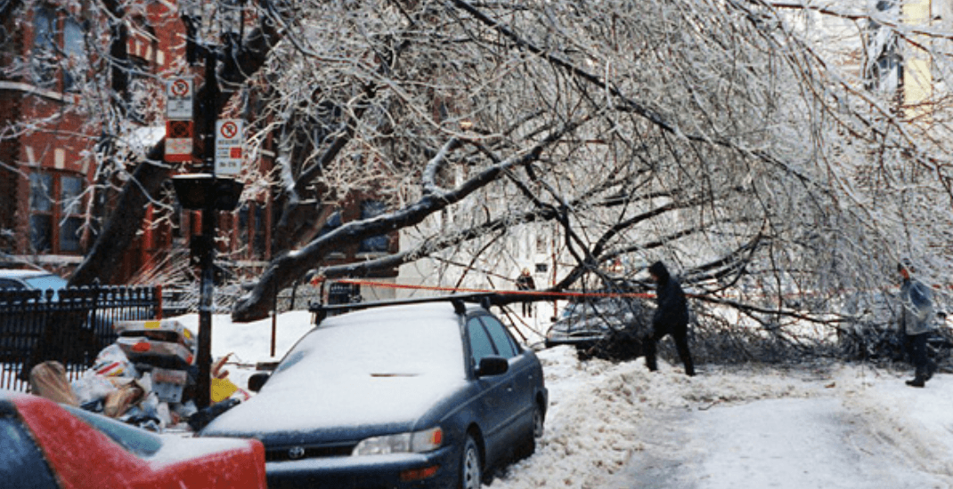 20 years ago a powerful ice storm shut down Ontario and Quebec (PHOTOS)