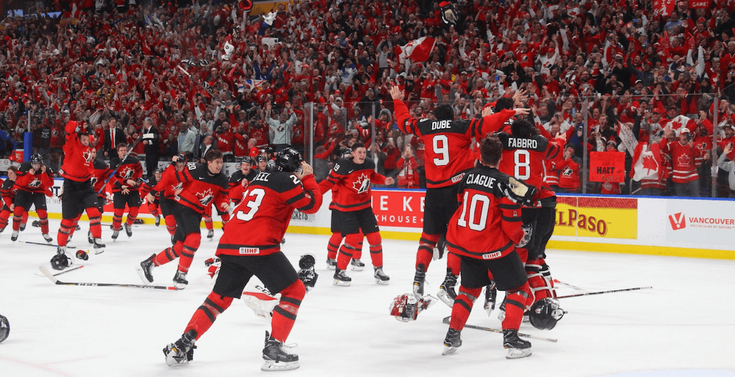 Canada beats Sweden in dramatic gold medal final at World Juniors