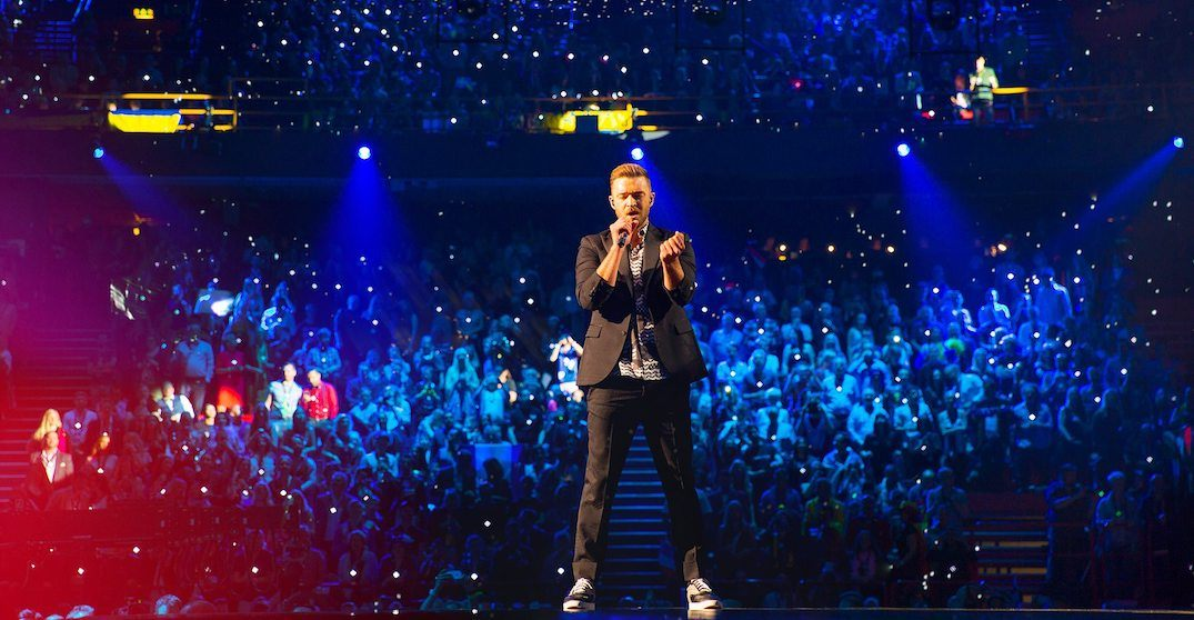 justin timberlake is  ing to montreal as part of his