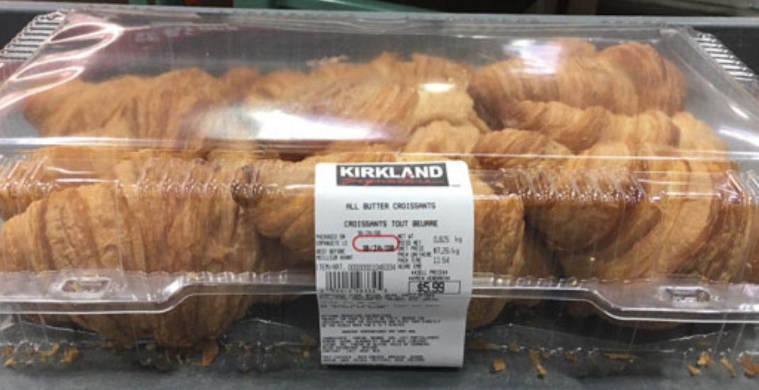 Recalled croissants