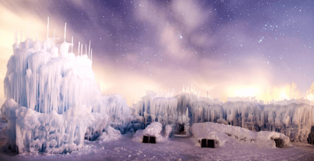 This shimmering Canadian ice castle opens January 4 (PHOTOS)