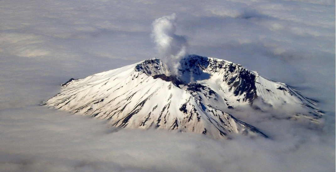 'I'm back bitches': Washington state's Mount St. Helens volcano hit by 89 earthquakes so far this year