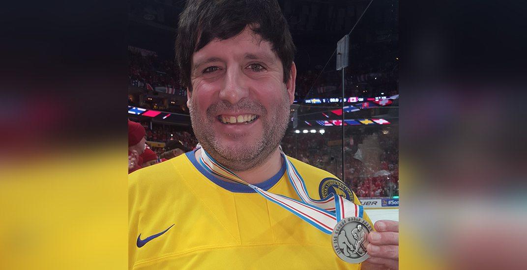 Fan silver medal sweden