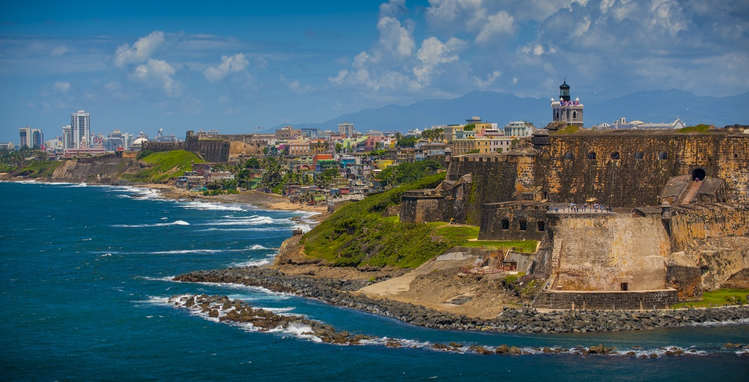 You can fly from Toronto to Puerto Rico for $305 roundtrip this winter