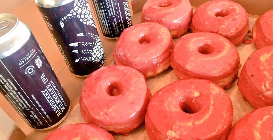 You can now get donut-inspired beer in Toronto