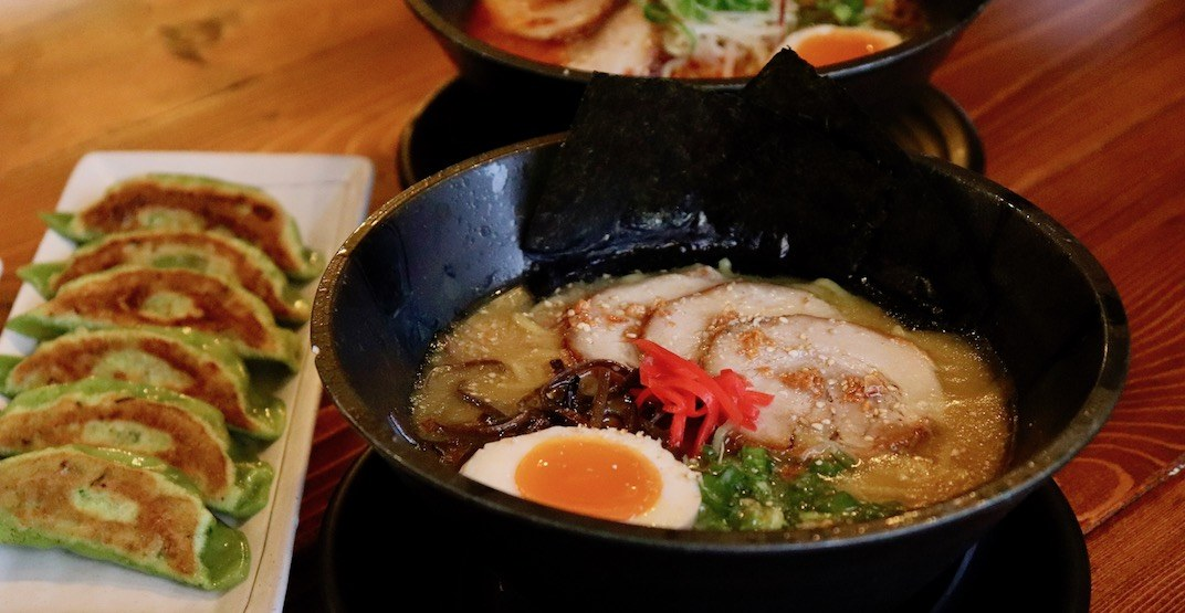 Here's where to taste one of the best bowls of ramen in Vancouver