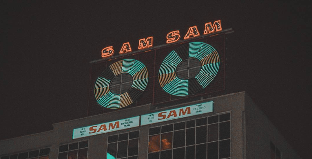 Sam the Record Man Sign official lighting ceremony takes place tonight