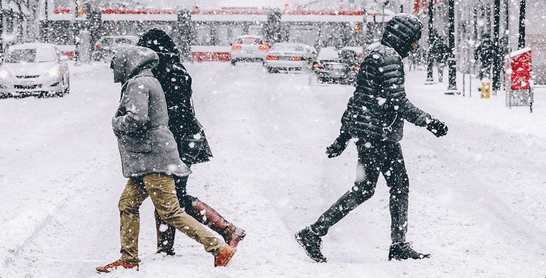 Up to 15 cm of snow forecast for Toronto this Friday